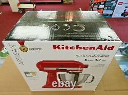 Brand New Kitchenaid Artisan Series 5 Quart Tilt-head Stand Mixer Empire Red