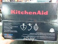 Brève Nouvelle! Kitchenaid Deluxe 4.5 Mélangeur De Quartz Eau Minérale / Bleu Mod#ksm97mi