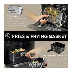 Chefwave 12,6 Pintes Air Fryer Four Avec Déshydrateur Et Rôtisserie