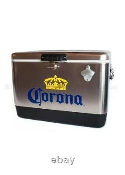Coleman Corona Stainless Steel Beer Cooler 54 Quart Dans La Publicité Télévisée