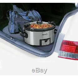 Crock-pot Minuterie Numérique Pour Cuisinière Lente Programmable Pour Cuisiner Et Transporter 7quart