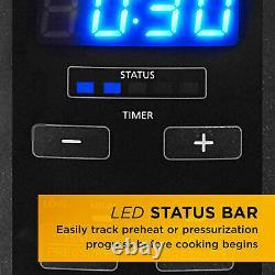 Crock-pot Multi Function 10 Quart Express Home Food Cooker, Acier Inoxydable