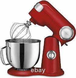 Cuisinart Precision Master Sm-50r 5.5-quart Stand Mixer Ruby Red