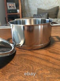 Demeyere John Pawson 3.2 Pintes Néerlandais En Acier Inoxydable Four Teo Handled Pot