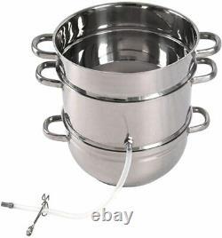 Distillateur D'eau, Non Électrique, Acier Inoxydable, 7 Quart