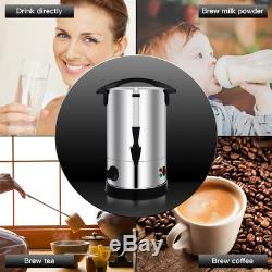 Distributeur De Bouilloire D'eau Chaude Pour Réchaud Chauffe-eau Électrique En Acier Inoxydable De 6 Pintes