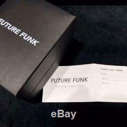 Future Funk Analog Retro Montre-bracelet Japon Les Rares Hommes Pintes Bracelet En Cuir