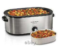 Grand Pot De Roche 22qt Roaster Four Turquie Qt 22 Quart Grand Cuisinier Lent Énorme 22qrt