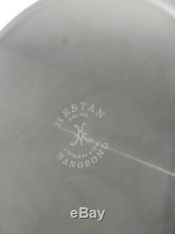 Hestan Nanobond Casserole En Acier Inoxydable Avec Couvercle, 8 Pintes