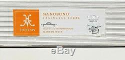 Hestan Nanobond Couvercle Sauteuse Sauteuse En Acier Inoxydable De 3,5 Pintes Avec Couvercle Nib