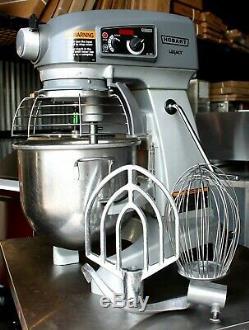 Hobart 20 Mixer Hl 20 Pintes Héritage Pizza Boulangerie Comptoir Pâte École Cookies