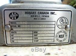 Hobart N50 Pagaie De Fouet En Acier Inoxydable Pour Mélangeur Commercial De 5 Pintes