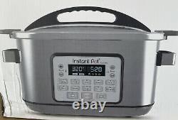 Instant Pot Aura Pro 8 Quart Multi Use Programmable Slow Cooker W Sous Vide