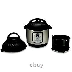 Instant Pot Duo Crisp Et Air Fryer 6 Quart 11-en-1 Autocuiseur Programmable