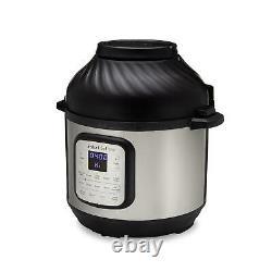 Instant Pot Duo Crisp Et Air Fryer, 6 Quart 11-in-1 One-touch Multi-use Program