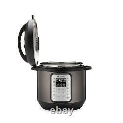 Instant Pot Viva Black Stainless 6-quart 9-in-1 Pression Programmable Multi-usage