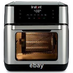 Instant Vortex Plus 10 Quart Air Fryer Oven Acier Inoxydable Nouveau