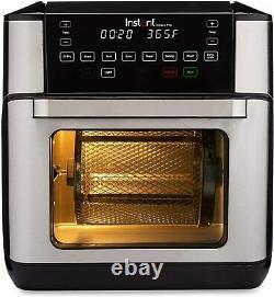 Instant Vortex Pro 10 Quart Air Fryer Four Acier Inoxydable Nouveau