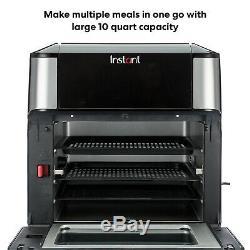Instantanée Vortex Plus 10 Pintes Air Fryer Four En Acier Inoxydable Nouveau