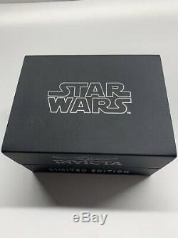 Invicta Star Wars Hommes En Acier Inoxydable 52 Mm, Cadran Argenté Quarts 27220