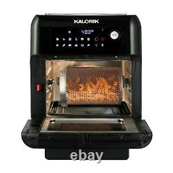 Kalorik 10 Quart Air Fryer Four, Noir