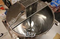 Kettle Maïs Pop-corn Popper 80 Quarts (nouveau) Machine En Acier Inoxydable