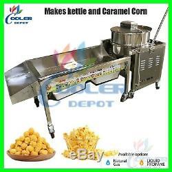 Kettle Maïs Soufflé Au Caramel De Maïs Gourmet Machine Commerciale Popper Nouveau Vente 90 Pintes