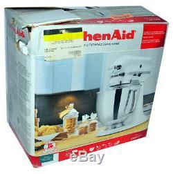 Kitchen Aid 5 Pintes Capacité Artisan Batteur Sur Socle Métallique Chromé Ksm150psbl