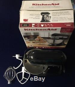 Kitchen Aid K45ssob 4,5 Pintes Classic Series Mixer Standard Onyx Noir Complet