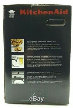 Kitchen Aid Série Artisan 5 Pintes Tête Inclinable Batteur Ksm150psvb Blue Velvet