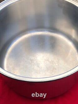 Kitchen Craft West Bend Batterie De Cuisine 12 Pintes Inoxydable Multicœur Stock Pot