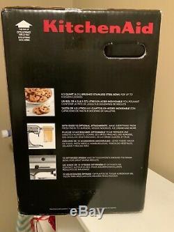 Kitchenaid 4,5 Pintes Tilt Head Mixer! K45ssob Nouveau Dans La Boîte / Etanche