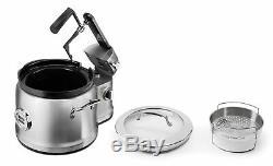 Kitchenaid 4 Pintes Multi-cooker Avec Stir Tour Accessoires En Acier Inoxydable