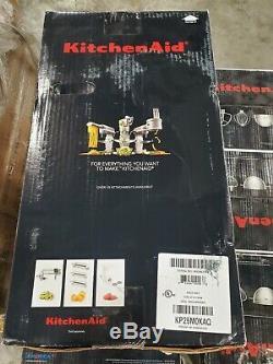 Kitchenaid 5 Professional Plus Pintes Bowl-lift Batteur Aqua Sky Kp25m0xaq