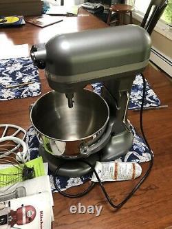 Kitchenaid 600 Professional 6-quart Pro Stand Mixer Rkp26m1xsl- Argent