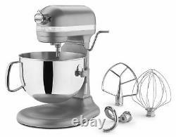 Kitchenaid 600 Super Big Capacity 6-quart Pro Stand Mixer Kp26m1psl Argent