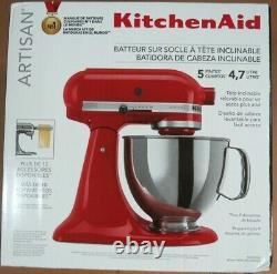 Kitchenaid Artisan Ksm150pser 5 Quart Tilt-head Stand Mixer Empire Red