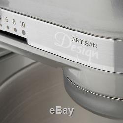 Kitchenaid Artisan Rk150sl 5quart Seried Tête Inclinable Batteur Sur Socle Argent