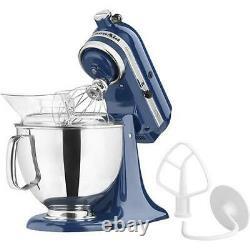 Kitchenaid Artisan Series 5 Quart Tilt-head Stand Mixer Blue Willow Ksm150psb