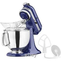 Kitchenaid Artisan Series 5 Quart Tilt-head Stand Mixer Cobalt Blue Ksm150psb