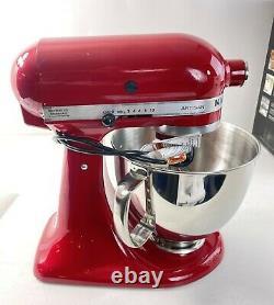 Kitchenaid Artisan Series 5 Quart Tilt-head Stand Mixer Empire Red Ksm150pser