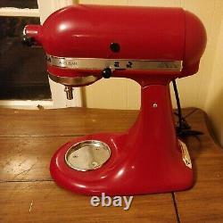 Kitchenaid Artisan Series 5 Quart Tilt-head Stand Mixer Empire Red Pas De Bol
