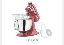 Kitchenaid Artisan Series 5 Quart Tilt-head Stand Mixer Empire Red Remis À Neuf