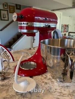 Kitchenaid Artisan Series 5 Quart Tilt-head Stand Mixer Empire Rouge