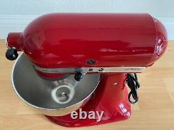 Kitchenaid Artisan Tilt Head Stand Mixer 5 Quart 10 Speed Empire Rouge