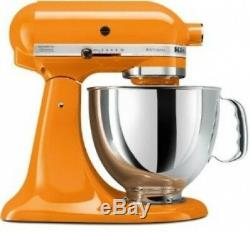 Kitchenaid Batteur Sur Socle Inclinable 5 Pintes Ksm150pstg Artisan 10-tangerine Orange