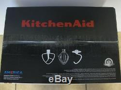 Kitchenaid Batteur Sur Socle Inclinable De 4,5 Pintes, Argent Ksm88sl