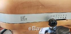 Kitchenaid Cuivre Édition Limitée 6 Pintes Kp26m8xcp 575w Batteur Sur Socle Rare