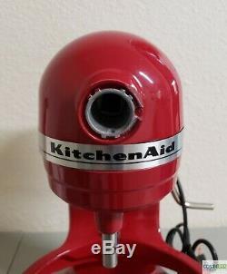 Kitchenaid Hd Bowl-lift Batteur Sur Socle 5 Pintes Rouge Kg25h0xer