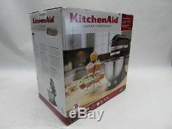Kitchenaid K45ss Mélangeur Sur Pied Inclinable De 4,5 Pintes, Série Classique Noir